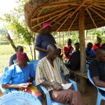 The Water Project: Mukangu Community, Lihungu Spring -  Training