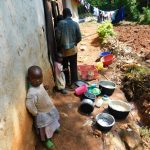 The Water Project: Ebutindi Community, Esilaba Anjere Spring -  Children At Home