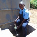 The Water Project: Musango Mixed Secondary School -  Water Flowing