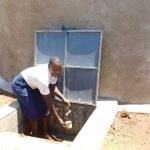 The Water Project: Namasanda Secondary School -  Water Flowing