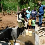 The Water Project: Mukangu Community, Lihungu Spring -  Flowing Water