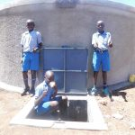 The Water Project: Lumakanda Township Primary School -  Flowing Water