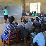 The Water Project: Khabukoshe Primary School -  Training