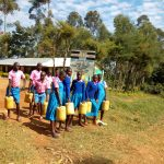 The Water Project: Irovo Orphanage Academy -  Students Leaving To Get More Water