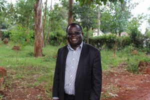 The Water Project:  Headteacher Sylvester Oyuga