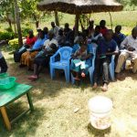 The Water Project: Mukangu Community, Lihungu Spring -  Dental Hygiene Training