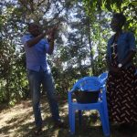 The Water Project: Emulakha Community, Nalianya Spring -  Handwashing Training
