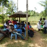 The Water Project: Mukangu Community, Lihungu Spring -  Handwashing Training