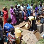 The Water Project: Musango Community, Mwichinga Spring -  Spring Care Training