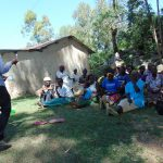 The Water Project: Bukhaywa Community, Asumani Spring -  Dental Hygiene Training