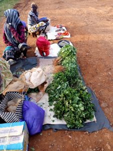 The Water Project:  Women Selling Vegetables From Their Gardens