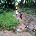 The Water Project: Bumavi Community, Joseph Njajula Spring -  At The Spring
