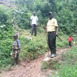 The Water Project: Kisasi Community, Edward Sabwa Spring -  Current Water Source