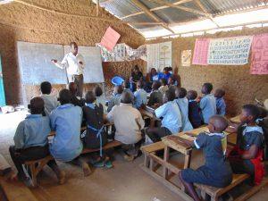 The Water Project:  Sanitation Teacher Talking To The Ctc Club