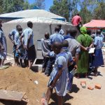 The Water Project: Matungu SDA Special School -  Tank Care Training