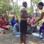 The Water Project: Musango Community, Mwichinga Spring -  Handwashing Training