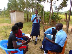 The Water Project:  A Participant Reads Her Answers Out Loud