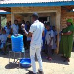 The Water Project: Matungu SDA Special School -  Handwashing Training