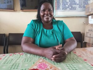 The Water Project:  Principal Mable Litu