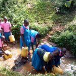 The Water Project: Irovo Orphanage Academy -  Fetching Water