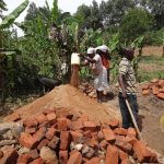 The Water Project: Emulakha Community, Nalianya Spring -  Delivering Sand To The Artisan