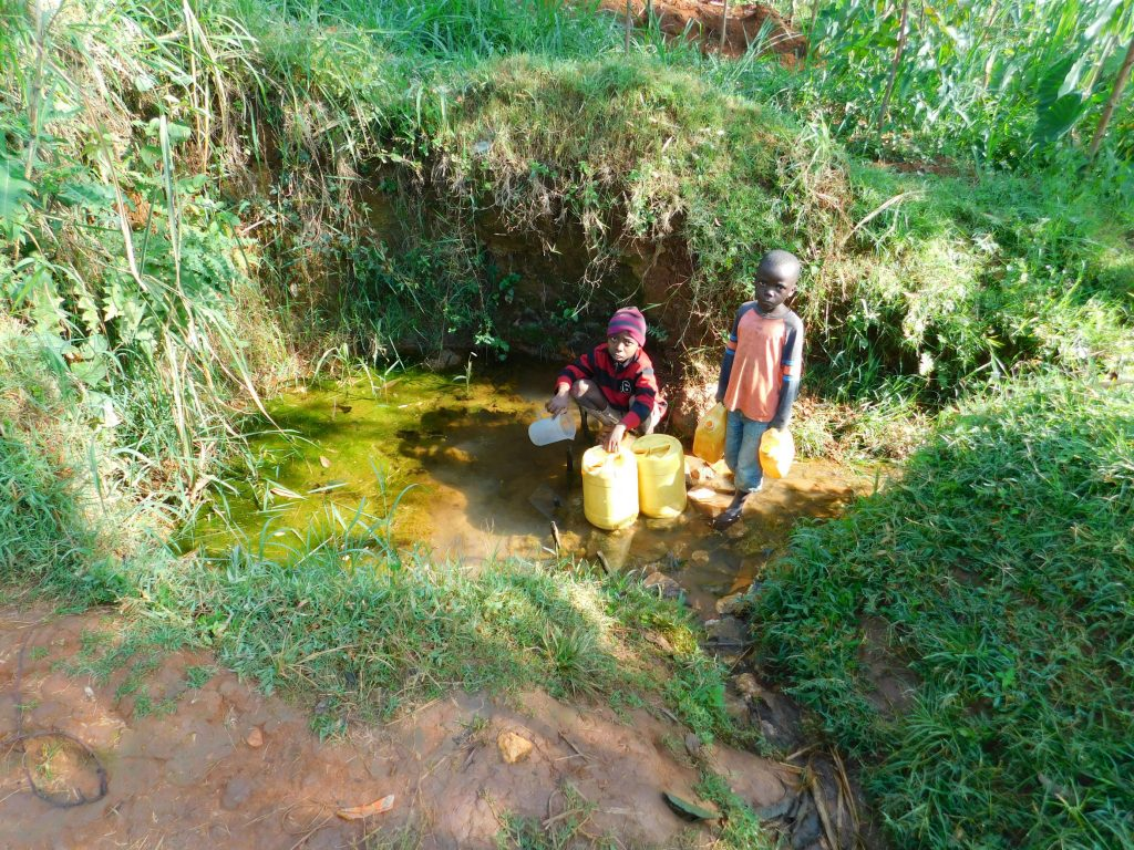 The Water Project : 7-kenya19155-fetching-water