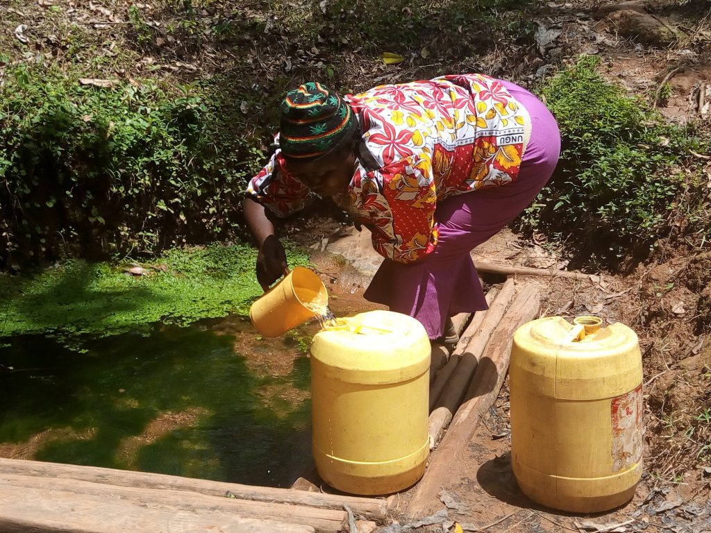 The Water Project : 7-kenya19167-fetching-water