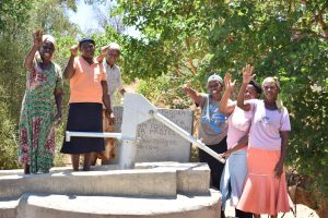 The Water Project:  Happy About The Completed Well