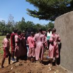 The Water Project: Irobo Primary School -  Training On Tank Care