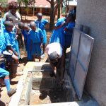 The Water Project: Kegoye Primary School -  Tank Care Training