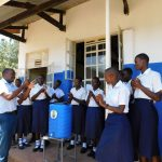 The Water Project: Namasanda Secondary School -  Handwashing Training
