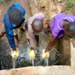 The Water Project: Chiliva Primary School -  Fetching Water