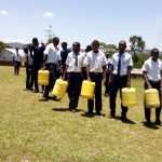 The Water Project: Gimariani Secondary School -  Leaving School To Fetch Water