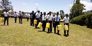 The Water Project:  Leaving School To Fetch Water