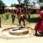 The Water Project: Nanganda Primary School -  Open Well
