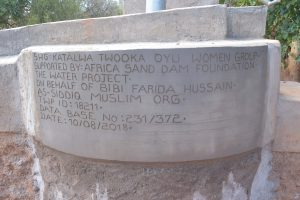 The Water Project:  Updated Well Plaque