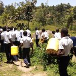 The Water Project: Gimariani Secondary School -  Going To Get Water