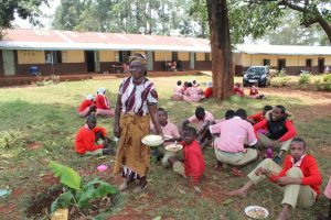 The Water Project:  Students Eating Lunch