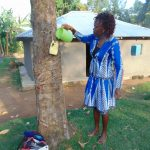 The Water Project: Musango Community, Ndalusia Spring -  Leaky Tin Handwashing Station