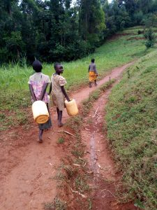 The Water Project:  Carrying Water