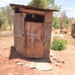 The Water Project: Kathonzweni Community -  Latrine