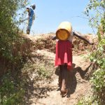 The Water Project: Ngitini Community D -  Carrying Water