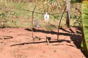 The Water Project:  Tippy Tap Handwashing Statiomn