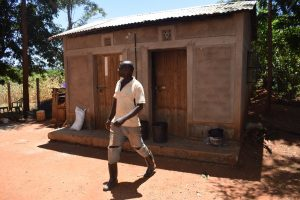 The Water Project:  Walking Out Of Kitchen