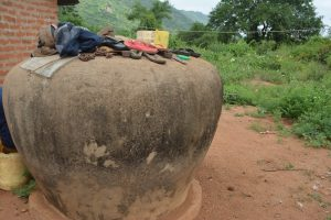 The Water Project:  Cement Water Storage Container