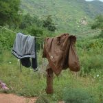 The Water Project: Wamwathi Community -  Clothesline