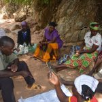 The Water Project: Wamwathi Community -  Consulting With Shg Members