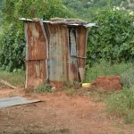 The Water Project: Wamwathi Community -  Latrines