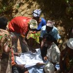 The Water Project: Wamwathi Community -  Reviewing Plans