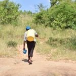 The Water Project: Kyamwao Community -  Carrying Water